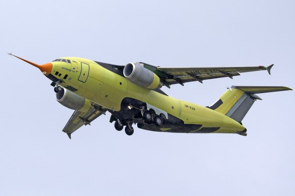Primeiro voo do AN-178 (Foto: Oleg V. Belyakov)