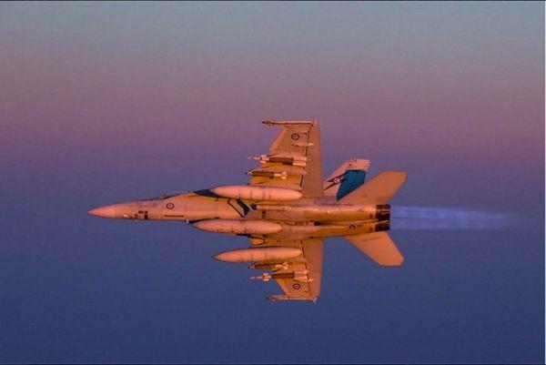 F-18 super hornet_iraque