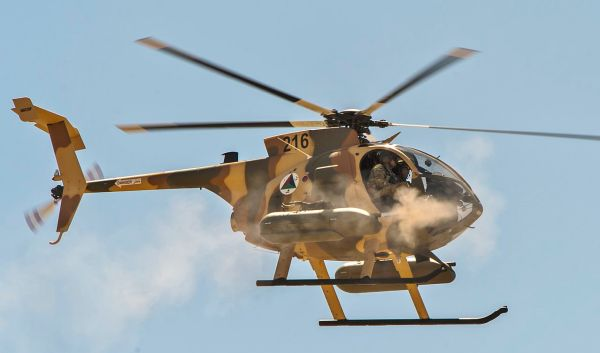 MD 530F 'Cayuse Warrior' (2)
