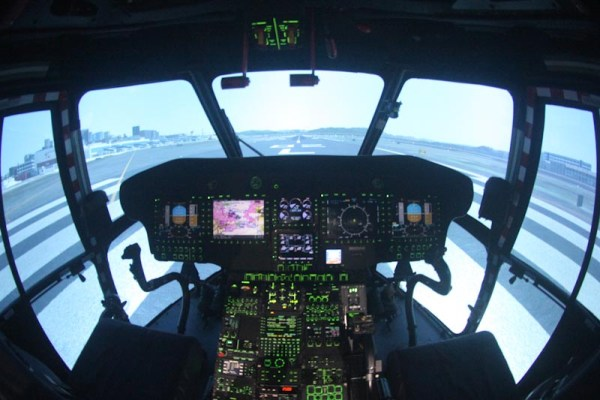 Simulador da Helibrás está qualificado e autorizado para todos os tipos de treinamentos, inclusive offshore. (Foto: Eny Miranda / Helibrás)