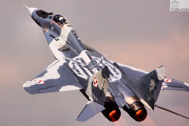 Polish_Air_Force_MiG-29_at_the_2013_Royal_International_Air_Tattoo_(9347807193)