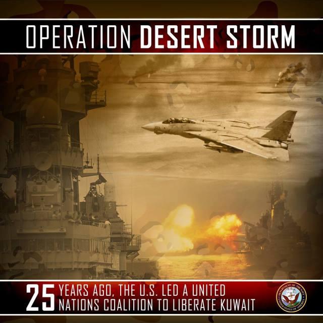 25 anos da Operação Tempestade no Deserto