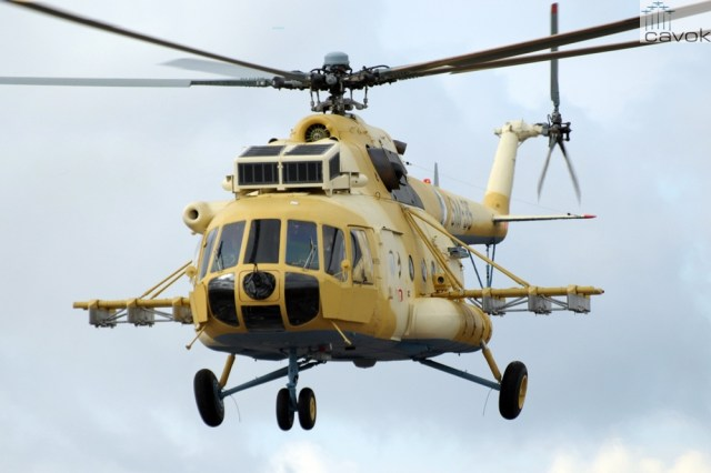 Mi-171 - Força Aérea Argelina (QJJ)