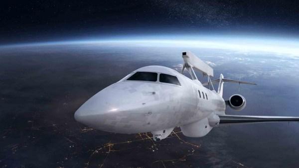A aeronave AEW&C GlobalEye proposta pela Saab. (Foto: Saab)