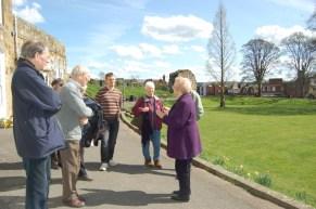 CBA SE Visit to Tonbridge Castle April 2015