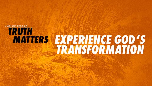 Experience God's Transformation