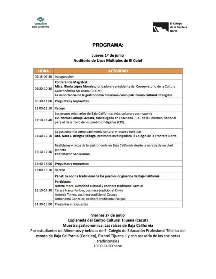 Programa Evento Gastro FINAL