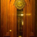15 foot high clock