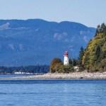 Lighthouse on Quadra Island