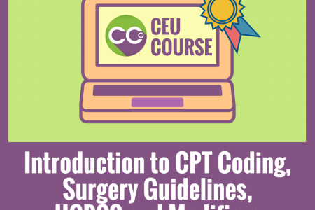 ceu credits online course introduction to cpt coding surgery guidelines hcpcs and modifiers