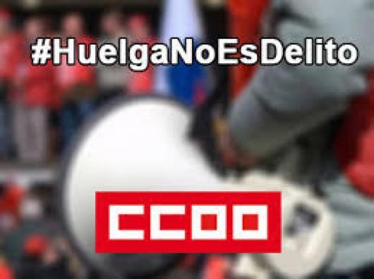Campaña #HuelgaNoEsDelito