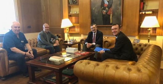 Reunión en el Senado