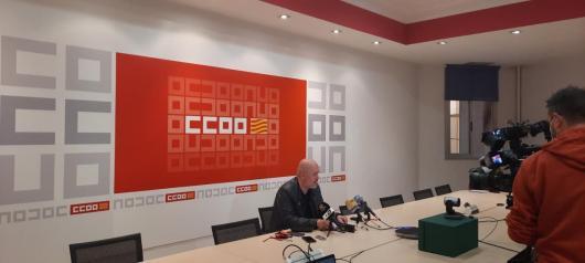 Comparecencia de prensa de Unai Sordo en Zaragoza
