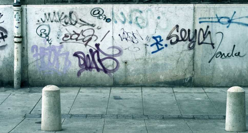 Graffiti Removal from CCPW in Liverpool