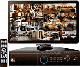 NVR - Network Video Recording Surveillance System