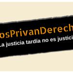 #NosPrivanDerechos