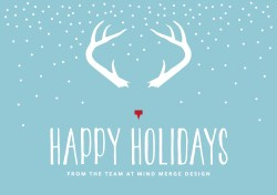 Howling Happy Holidays From Merge Design Happy Holidays From Merge Design Merge Design Happy Holidays Cards Pinterest Happy Holidays Cards To Make