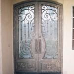puerta-forja-artistica puertas de portal Madrid