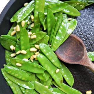 Fancy Sauteed Snap Peas Ceara's Kitchen