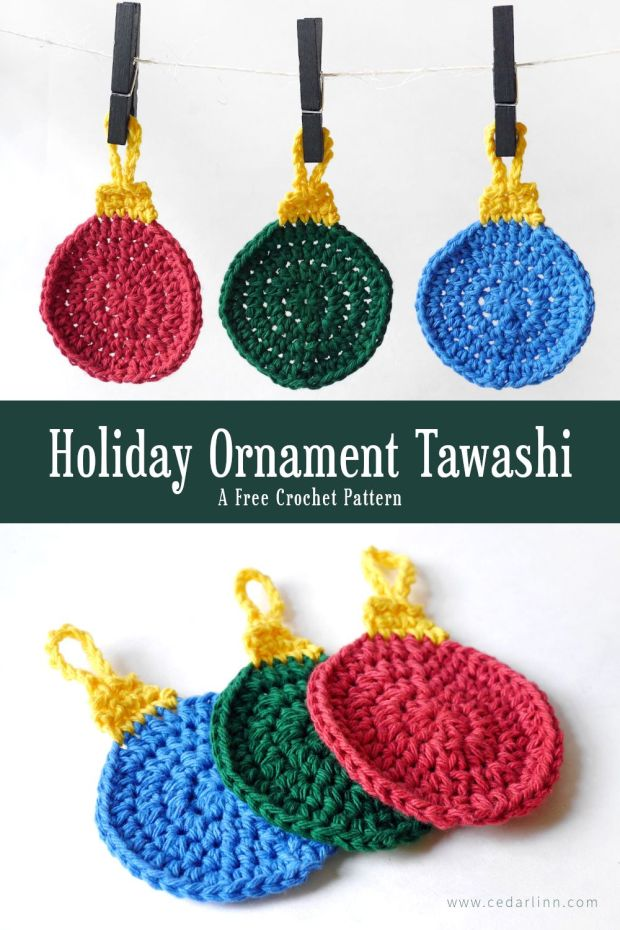 Holiday Ornament Tawashi