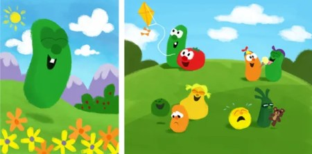 VeggieTales-paintings