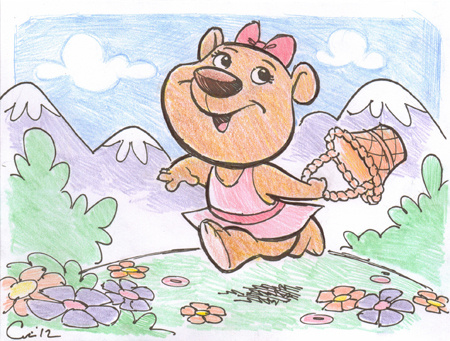 sketchcard-bear-mountains