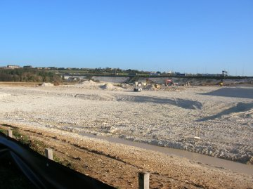 A2_M25_Lagoon_construction