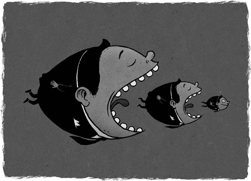 La ineficiencia neoliberal (por Alfredo Serrano Mancilla)