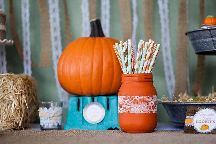 rustic little pumpkin baby shower celebration lane