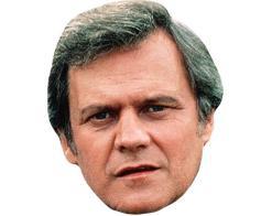 A CCardboard Celebrity Mask of John Beck