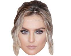 A Cardboard Celebrity Mask of Perrie Edwards