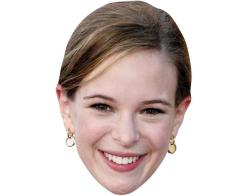 A Cardboard Celebrity Mask of Danielle Panabaker
