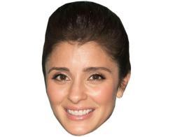 A Cardboard Celebrity Mask of Shiri Appleby