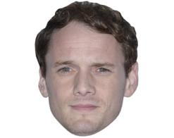 A Cardboard Celebrity Mask of Anton Yelchin