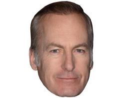 A Cardboard Celebrity Mask of Bob Odenkirk
