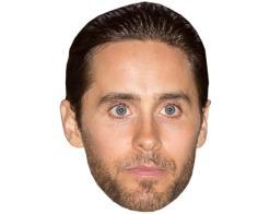 A Cardboard Celebrity Mask of Jared Leto