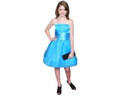 A Lifesize Cardboard Cutout of Natalia Dyer wearing a blue dress