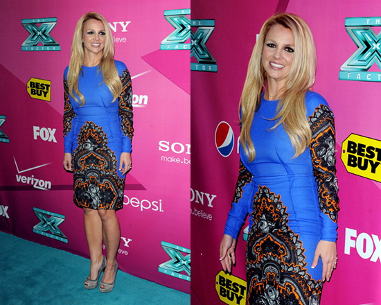 britney spears Stella McCartney Printed Sheath Dress Holiday Dresses: Splurge or Steal?