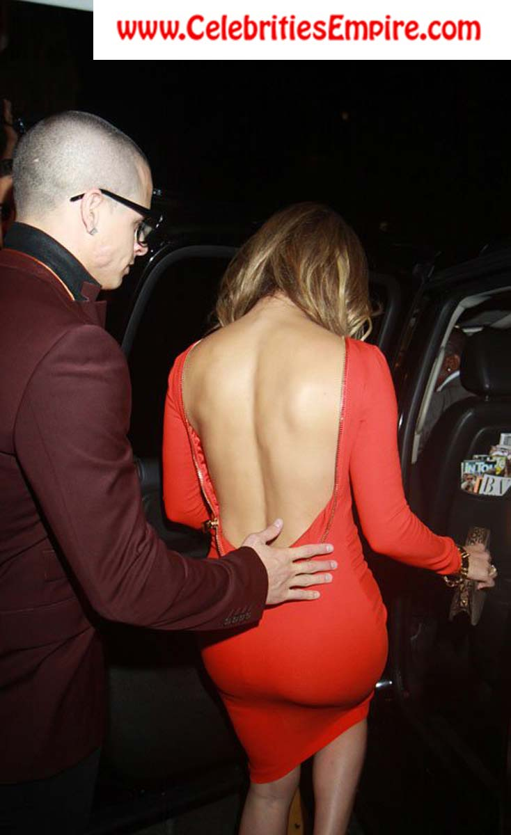 jennifer lopez tight mini dress