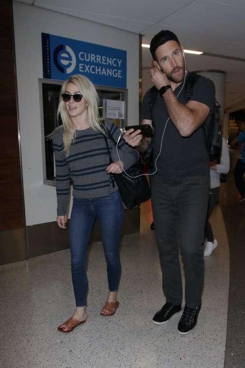 Examplary Julianne Hough Husband Brooks Laich Are Seen Arriving At Lax Husband Brooks Laich Are Seen Arriving At Lax Airport Inlos Angeles Julianne Hough