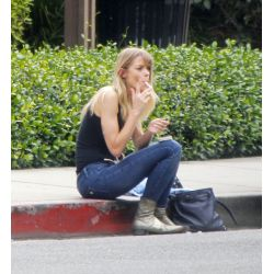 Lovely Joined By Her Tia Torres Husband Name Tia Torres Husband Photo Jaime King Takes A Smoke Break On Curb Joined By Her Husband Jaime King Takes A Smoke Break On Curb bark post Tia Torres Husband