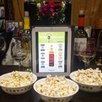 A new take on wine pairings with SkinnyPop Popcorn.