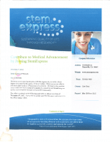 StemExpress Offer Letter to Holly O'Donnell