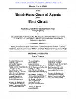Opening Brief on Appeal to Dissolve Unsupported Preliminary Injunction