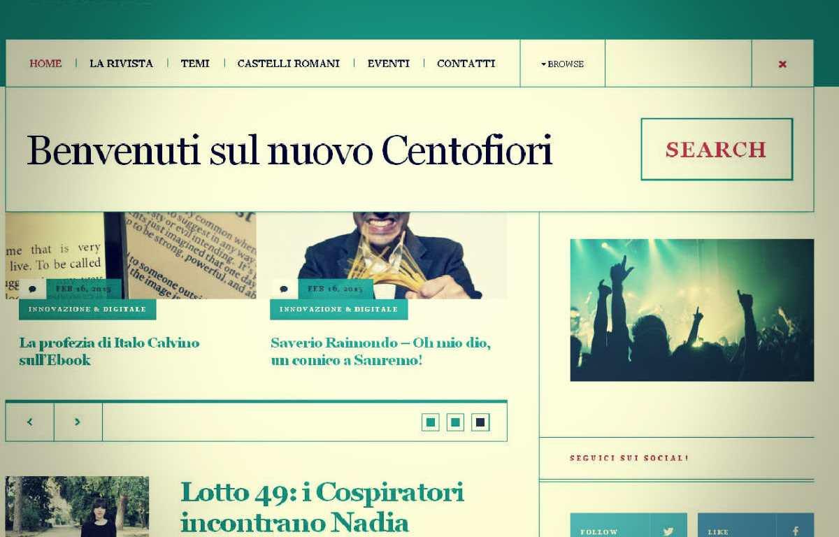 Centofiori | Bimestrale Culturale | www.centofiori.net