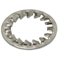 Metric Serrated Lock Washers