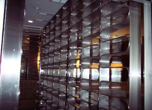 Custom Stainless Steel Wine Rack5