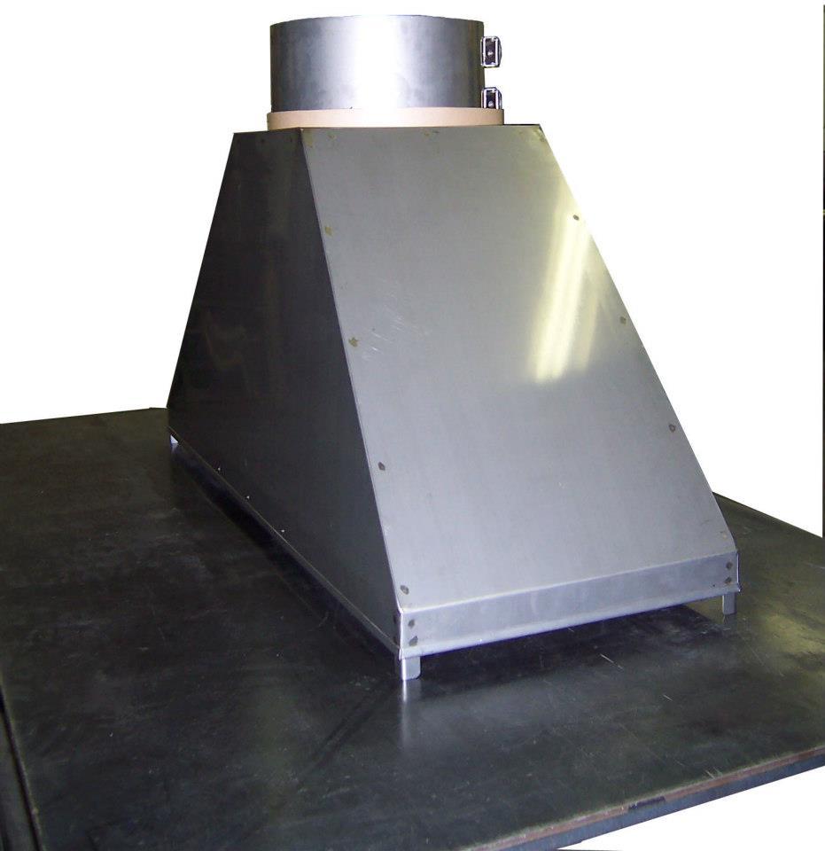Duct Fan In An Enclosure : Exhaust fan enclosure central sheet metal fabricators inc