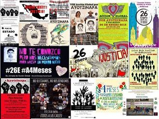 20150126JornadaDeAccionGlobalPorAyotzinapa