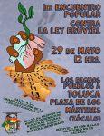 1er Encuentro Popular Contra la Ley Eruviel